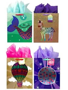 Blue House Group hot air balloon design  tissue papers