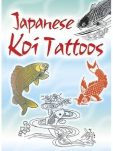 Dover Publications japanese koi  tattoo designs