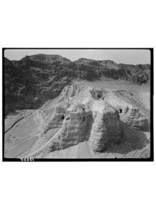 Historic Photos location  dead sea scrolls