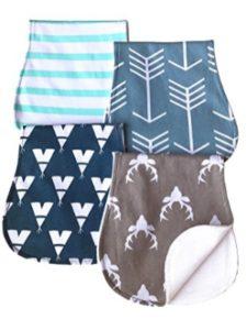 ARNZION material  baby burp cloths