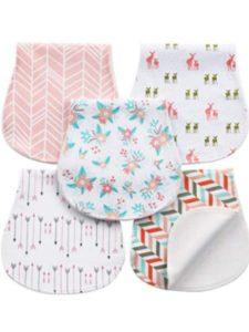 AiKiddo material  baby burp cloths
