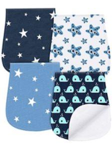 YOOFOSS material  baby burp cloths