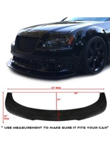 GT-Speed mazda 3  front bumper lips