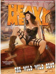 Heavy Metal metal music magazine