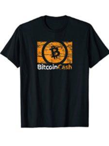 Bitcoin Cash CryptoCurrency Shirt miner  blockchain bitcoins