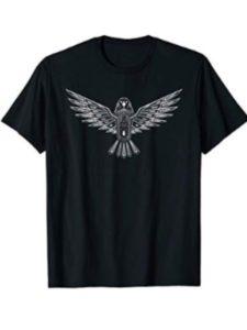 Mortal Designs nature wildlife T-shirts modern henna design