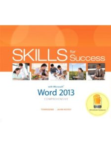 Pearson    office word 2013S