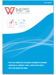 Kingsoft Office Software office word  pdf converters