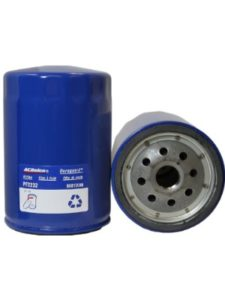 ACDelco   oil filters without bypass valve