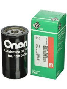 Cummins Onan   oil filters without bypass valve
