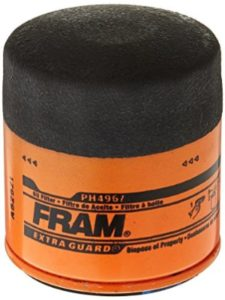 Fram   oil filters without bypass valve