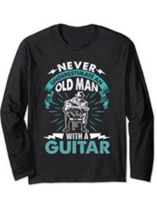 Guitar Player Apparel old man  guitar tabs