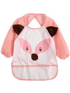 Botrong® pattern  long sleeve baby bibs