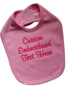 Funny Girl Designs    personalised baby bibs
