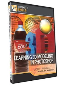 Infinite Skills photoshop  3d modelings