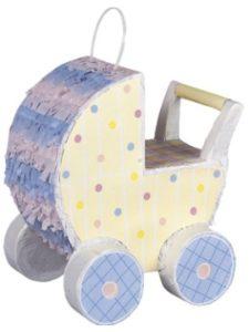 Unique Party Favors pinata  baby carriages