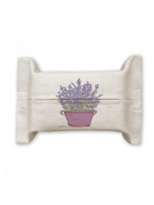 DIYlab pot  tissue paper flowers