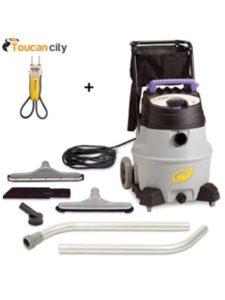 Toucan City + ProTeam wet dry vacuum