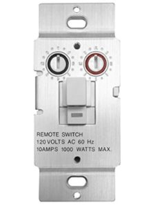 X10 push button  relay switches