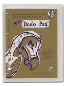 Dodo Pad Ltd quilt art 2018  engagement calendars