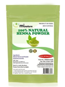 mi nature    rajasthani henna powders