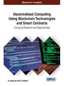 Information Science Reference research  smart contracts