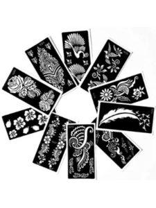 Nanjari Logistics Solutions, LLC rose  henna designs