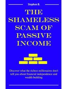amazon scam  passive incomes