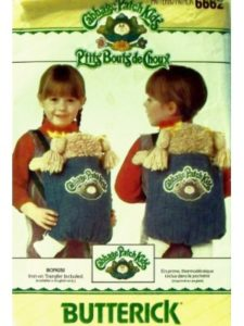 Butterick Pattern Service sewing pattern  doll carriers