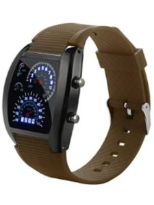 DICPOLIA Men's Watches speedometer watch