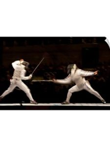Canvas On Demand    summer olympics fencings