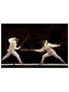 Great Big Canvas    summer olympics fencings