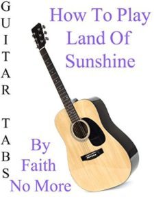 amazon sunshine  guitar tabs