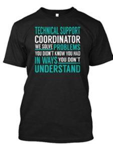 teespring    technical support coordinators
