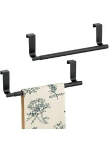 MetroDecor    towel rack cabinet doors