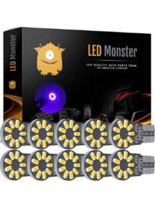 LED Monster ua 49  flight trackers