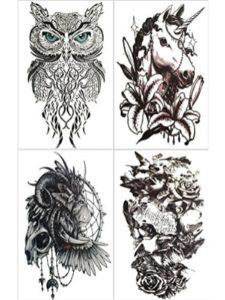Recoo unicorn  henna tattoos