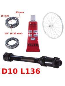 cyclingcolors vent bolt  rear axles