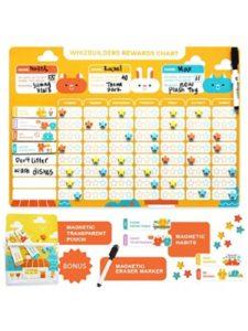 WhizBuilders wall  schedule organizers