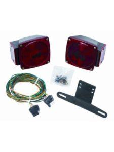 Hidden Hitch trailer light kit