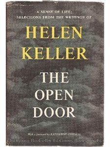 Doubleday & Co. writing  helen kellers