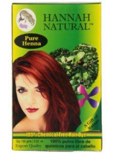 Hannah Natural yemeni  henna powders
