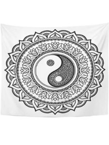Emvency yin yang  henna tattoos