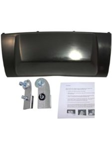 APDTY 2007 cadillac escalade  trailer hitch covers