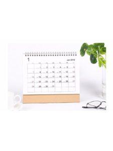 TDLC 2017  mini desk calendars