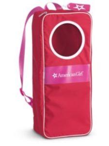 American Girl    american girl doll backpack carriers