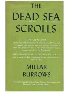 London, Secker & Warburg author  dead sea scrolls