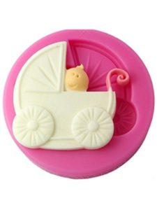 FOUR-C    baby carriage cupcakes