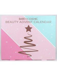 Bare Faced beauty  box advent calendars