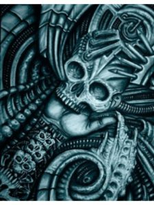 Black Market Art biomechanical  tattoo designs